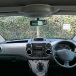 Mobility Nationwide   Used Wheelchair Accessible Vehicles   Peugeot Partner view from wheelchair
