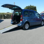 Mobility Nationwide | Used Wheelchair Accessible Vehicles | Citroen Berlingo side view of ramp