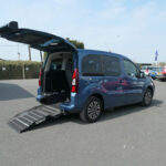 Mobility Nationwide | Used Wheelchair Accessible Vehicles | Peugeot Partner side view ramp