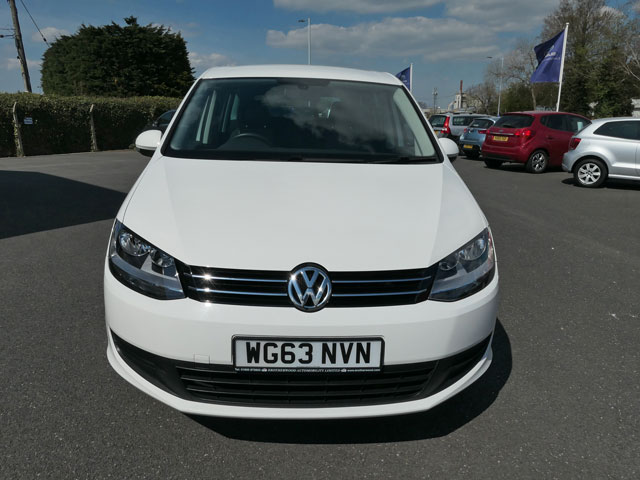Mobility Nationwide | Used Wheelchair Accessible Vehicles | White Sharan front view