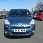 Mobility Nationwide | Used Wheelchair Accessible Vehicles | Blue Peugeot Partner front
