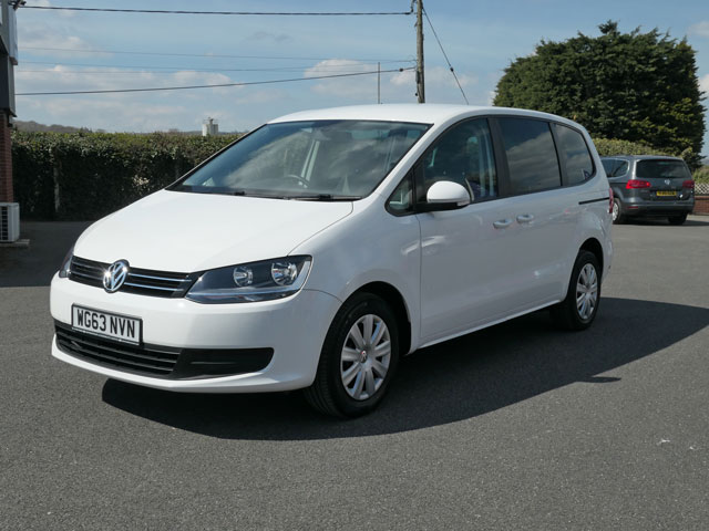 Mobility Nationwide   Used Wheelchair Accessible Vehicles   VW Sharan front side