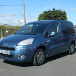 Mobility Nationwide | Used Wheelchair Accessible Vehicles | Blue Peugeot Partner
