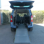 Mobility Nationwide | Used Wheelchair Accessible Vehicles | Berlingo ramp to back