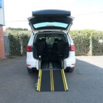 Mobility Nationwide | Used Wheelchair Accessible Vehicles | VW Sharan ramp to BACK