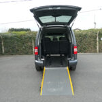 Mobility Nationwide | Used Wheelchair Accessible Vehicles | VW Caddy ramp to rear
