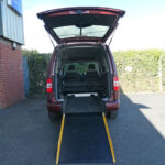 Mobility Nationwide | Used Wheelchair Accessible Vehicles | Caddy ramp to back