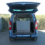 Mobility Nationwide | Used Wheelchair Accessible Vehicles | Berlingo ramp stowed