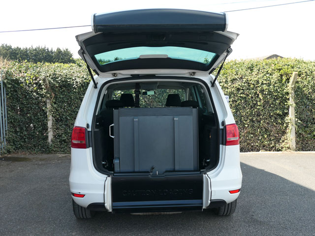 Mobility Nationwide | Used Wheelchair Accessible Vehicles | VW Sharan ramp stowed