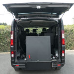Mobility Nationwide | Used Wheelchair Accessible Vehicles | Vauxhall Vivaro ramp stowed