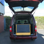 Mobility Nationwide | Used Wheelchair Accessible Vehicles | Caddy ramp stowed