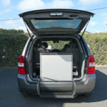 Mobility Nationwide   Used Wheelchair Accessible Vehicles   Sedona with ramp stowed