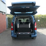 Mobility Nationwide | Used Wheelchair Accessible Vehicles | Partner ramp stowed upright