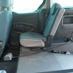 Mobility Nationwide | Used Wheelchair Accessible Vehicles | Citroen Berlingo rear seats