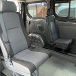 Mobility Nationwide | Used Wheelchair Accessible Vehicles | Vivaro rear seats