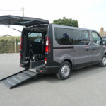 Mobility Nationwide | Used Wheelchair Accessible Vehicles | Vivaro side view of ramp