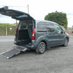 Mobility Nationwide | Used Wheelchair Accessible Vehicles | Peugeot Partner rear ramp