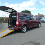 Mobility Nationwide | Used Wheelchair Accessible Vehicles | Caddy side view ramp