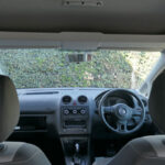 Mobility Nationwide | Used Wheelchair Accessible Vehicles | VW Caddy view from wheelchair