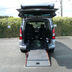 Mobility Nationwide | Used Wheelchair Accessible Vehicles | Partner ramp into back