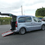 Mobility Nationwide | Used Wheelchair Accessible Vehicles | Partner ramp side view
