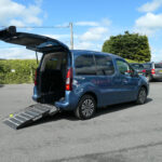 Mobility Nationwide | Used Wheelchair Accessible Vehicles | Partner side view of ramp