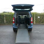Mobility Nationwide   Used Wheelchair Accessible Vehicles   Berlingo with ramp to back