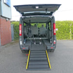 Mobility Nationwide | Used Wheelchair Accessible Vehicles | Vauxhall Vivaro ramp to back