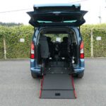 Mobility Nationwide   Used Wheelchair Accessible Vehicles   Peugeot Partner ramp to back