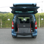 Mobility Nationwide   Used Wheelchair Accessible Vehicles   Peugeot Partner ramp stowed