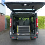 Mobility Nationwide | Used Wheelchair Accessible Vehicles | Vauxhall Vivaro ramp stowed flat
