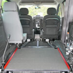 Mobility Nationwide   Used Wheelchair Accessible Vehicles   Peugeot Partner ramp stowed flat