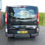 Mobility Nationwide | Used Wheelchair Accessible Vehicles | Vauxhall Vivaro rear