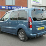 Mobility Nationwide   Used Wheelchair Accessible Vehicles   Peuegot Partner rear side