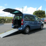 Mobility Nationwide   Used Wheelchair Accessible Vehicles   Berlingo ramp view