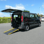 Mobility Nationwide | Used Wheelchair Accessible Vehicles | Vauxhall Vivaro side view ramp