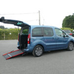 Mobility Nationwide   Used Wheelchair Accessible Vehicles   Peugeot Partner side view