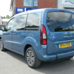 Mobility Nationwide   Used Wheelchair Accessible Vehicles   Peugeot partner rear quarter view