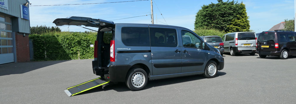 Mobility Nationwide   Used Wheelchair Accessible Vehicles   Peugeot Expert Tepee