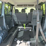 Mobility Nationwide   Used Wheelchair Accessible Vehicles   Peugeot Expert Tepee interior