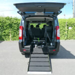 Mobility Nationwide   Used Wheelchair Accessible Vehicles   Peugeot Expert Tepee ramp down