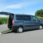 Mobility Nationwide   Used Wheelchair Accessible Vehicles   Peugeot Expert Tepee ramp side