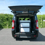 Mobility Nationwide   Used Wheelchair Accessible Vehicles   Peugeot Expert Tepee ramp stowed