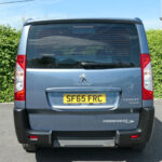 Mobility Nationwide   Used Wheelchair Accessible Vehicles   Peugeot Expert Tepee rear