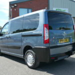 Mobility Nationwide   Used Wheelchair Accessible Vehicles   Peugeot Expert Tepee rear left