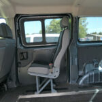 Mobility Nationwide   Used Wheelchair Accessible Vehicles   Peugeot Expert Tepee rear seat