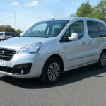 Mobility Nationwide   Used Wheelchair Accessible Vehicles   Peugeot Partner front side angle