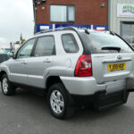 Mobility Nationwide | Used Wheelchair Accessible Vehicles | Kia Sportage rear side