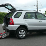 Mobility Nationwide | Used Wheelchair Accessible Vehicles | Kia Sportage ramp