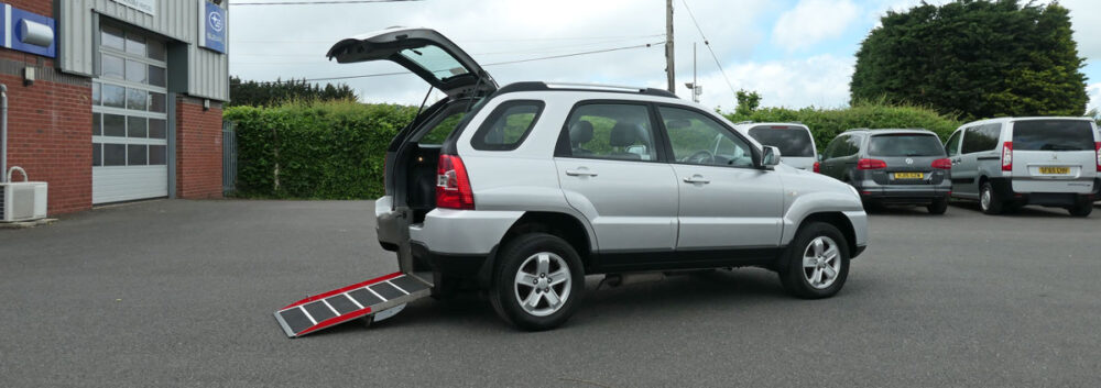 Mobility Nationwide | Used Wheelchair Accessible Vehicles | Kia Sportage Accessible Vehicle